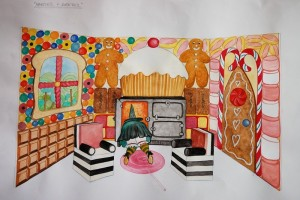 Hansel & Gretel Sketch
