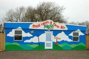 Fairytale Farm main entrance