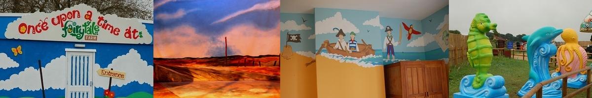 Murals, Scenic Art & Other Design Work