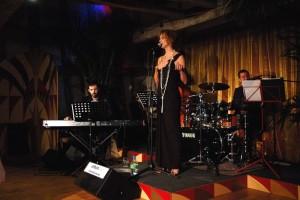 Evening reception at Bateman's Barn