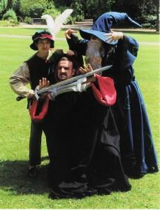 Arthur, Mordred & Merlin